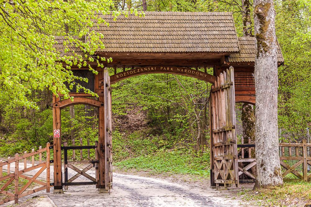 26 Roztocze, Roztoczanski Park Narodowy, wejscie do Roztoczanskiego Parku