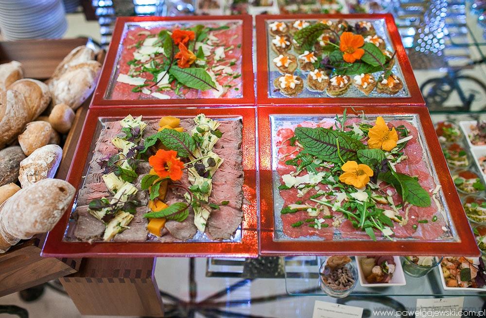 034 dekoracja żywności Warszawa